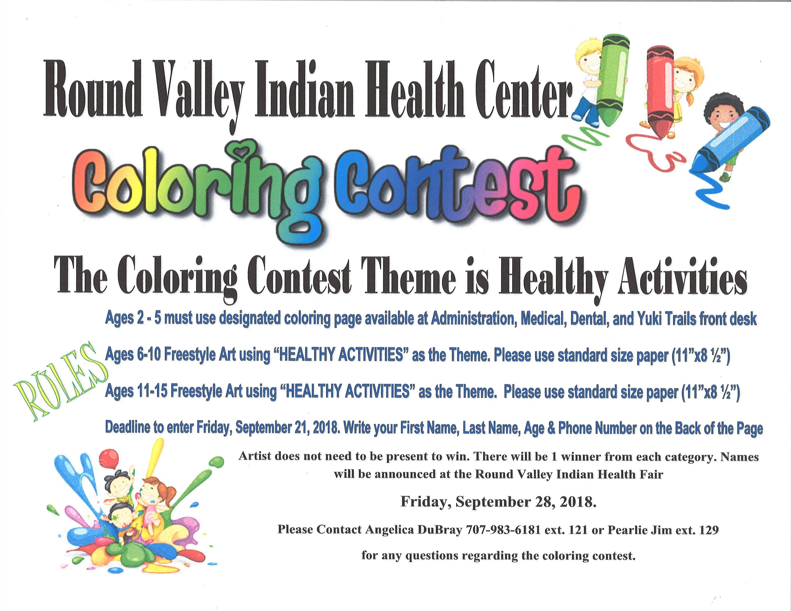 Current Events - Round Valley Indian Health Center